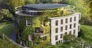 construcción de edificios respetuosos con el medio ambiente